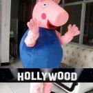Blue George Peppa Pig Mascot Character Adult Costume NEW 2016 VERSION