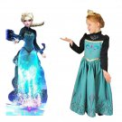 Elsa Frozen Princess Dress Costume Royal Queen Dress CHILD 3T, 4T, 5T, 6T, 7T, 8T SALE LIMITED TIME