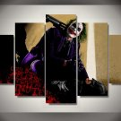 The Joker Batman Movie DC Comics 5pc Wall Decor Framed Oil Painting #5 Superhero Art