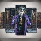 The Joker villain Batman DC Comics 5pc Wall Decor Framed Oil Painting #6  Superhero
