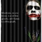 Joker Batman Design Shower Curtain 60 x 72