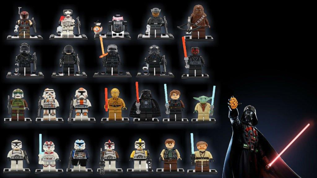 24PCS Star Wars Force Awakens Mini Figures for Building Blocks Minifigures Block Build on SALE