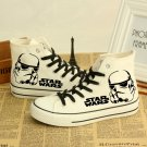 Star Wars Casual Shoes White with Stormtrooper Pair New