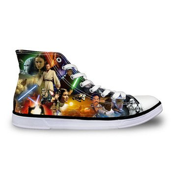 Star Wars Force Awakens Canvas Casual Shoes Design 3 - NEW