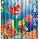 Disney's Ariel The Little Mermaid Design Shower Curtain