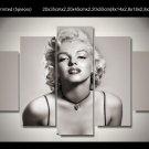 Marilyn Monroe Framed 5pc Oil Painting Wall Decor 3 Hollywood Movie Celebrity Art