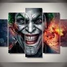 The Joker Framed 5pc Oil Painting Wall Decor Comics Marvel DC Superhero