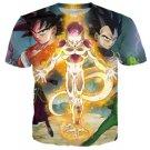 Dragon Ball Z Goku 3D T Shirt Anime Adult  Multiple Sizes Design 2