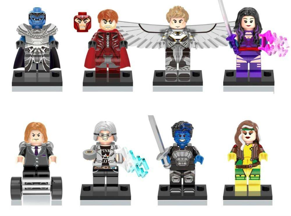 X-Men Apocalypse Minifigures Professor X/Magneto Building Block Mini Figures Building Blocks Minifigures Block Build Set