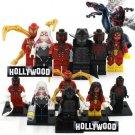 Deadpool Marvel 8pc Mini Figures Building Blocks Minifigures Block Build Set