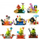 Angry Birds 8pc Mini Figures Building Blocks Minifigures Block Build Set 2
