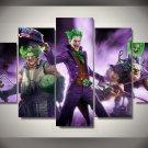 The Joker Batman DC Comics 5pc Wall Decor Framed Oil Painting #12 Superhero