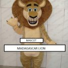 Madagascar lion character mascot costume - FREE SHIPPING