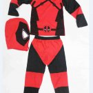 Deadpool Custom Cosplay Character Costume Child Kids