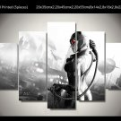 Catwoman Movie 5pc Framed Canvas Oil Painting Wall Decor  HD 3 Superhero