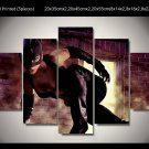 Catwoman Movie 5pc Framed Canvas Oil Painting Wall Decor  HD 4 Superhero