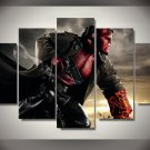 Hellboy Movie 5pc Wall Decor Framed Oil Painting HD Superhero
