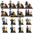 The Walking Dead 16pcs Set New no boxes Mini Figures Building Blocks Minifigures Compatible