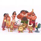 Moana Action Figures Set 12 pcs  SALE FOR LIMITED TIME Disney toys