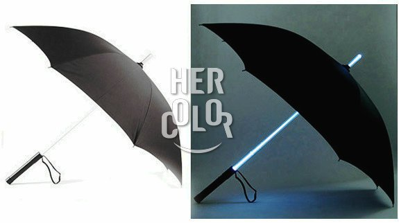 Star Wars Light Saber Umbrella- Black