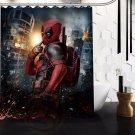 Deadpool Shower Curtain Series Hollywood Design