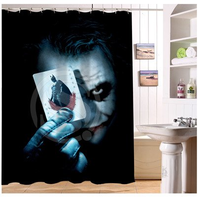 The Joker Shower Curtain Series Hollywood Design
