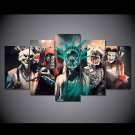 The Purge Election Day 5pc Wall Decor Framed Oil Painting Movie HD Horror