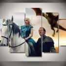 Game of Thrones HD 5pc Wall Decor Framed Oil Painting