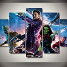 Guardians of the Galaxy Disney movie HD 5pc Wall Decor Framed Oil Painting