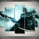 Batman Knight City Group Framed 5pc Oil Painting Wall Decor