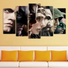 Batman Green  Arrow Catwoman HD Framed 5pc Oil Painting Wall Decor
