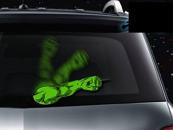 Hulk Arm Wiper Attachment Super Cool