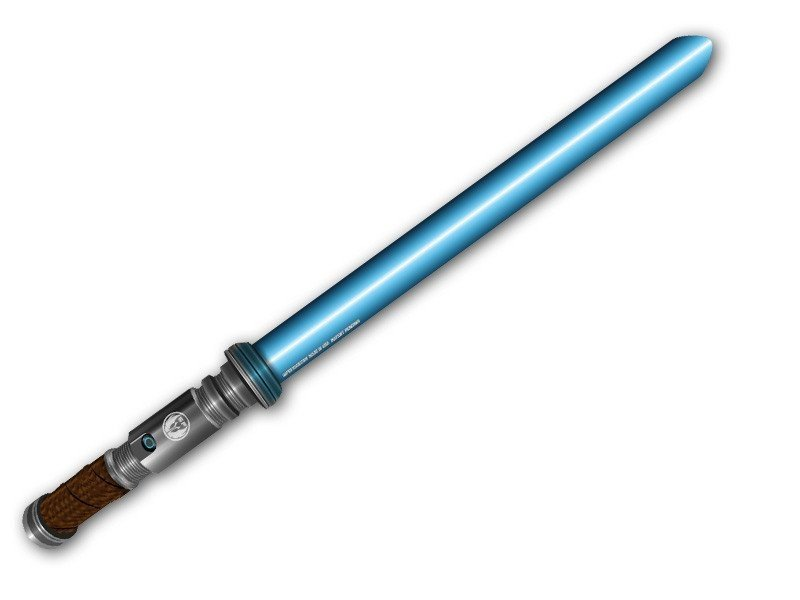 Blue Light Saber 2 Wiper Attachment Super Cool