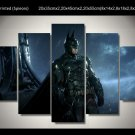 Batman Movie Gotham HD 5pc Wall Decor Framed Oil Painting Superhero art
