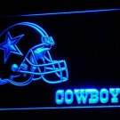 Dallas Cowboys Football Helmet LED Neon Sign 3D Sports
