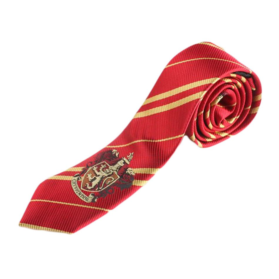 Harry Potter Gryffindor Series Tie Clothing Accessories Borboleta Necktie Multiple colors