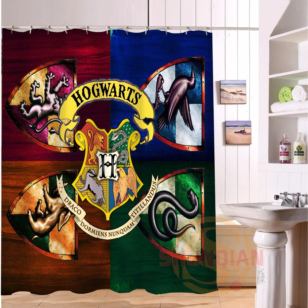 Harry Potter Shower Curtain Series Hollywood Design