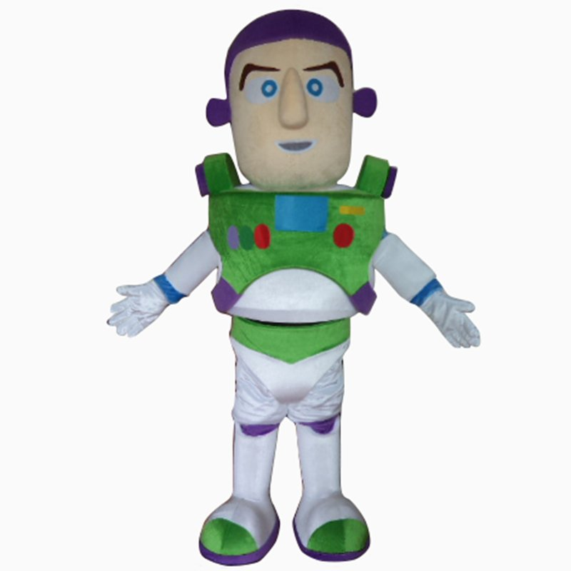 Buzz Lightyear Toy Story Mascot Character Adult Costume - NEW ARRIVAL