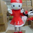 Hello Kitty ChristmasMascot Costume Character  Adult