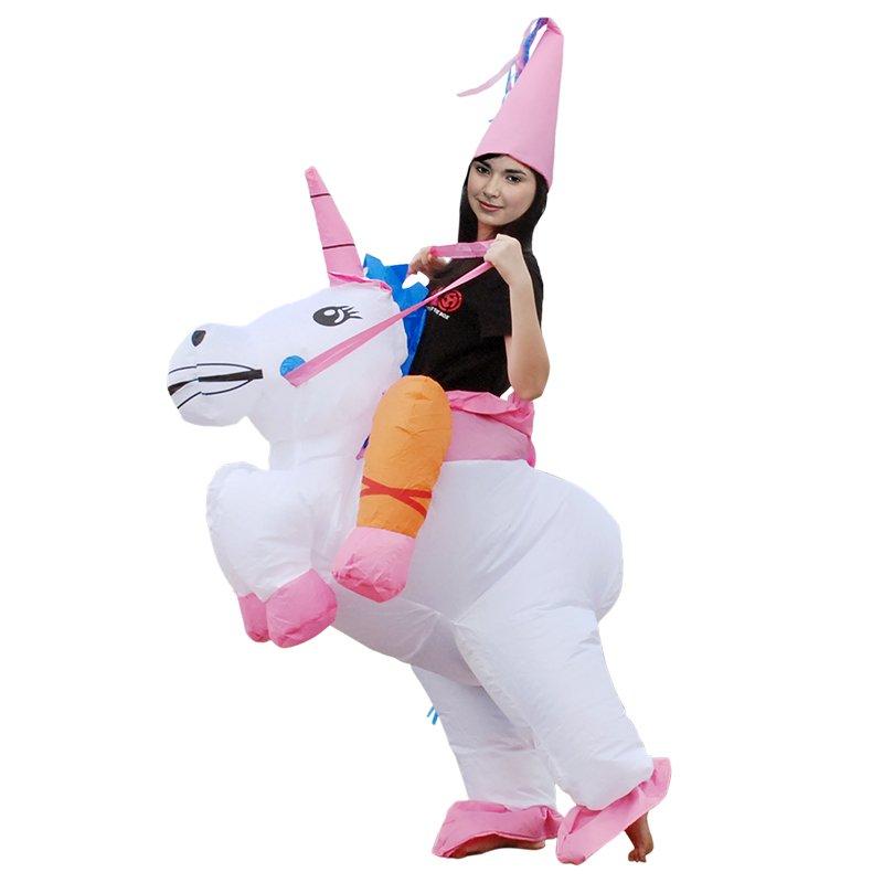 Unicorn Princess Inflatable Adult Costume Fun Carnival Halloween Costume