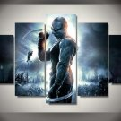 Chronicles of Riddick Movie Framed 5pc Oil Painting Wall Decor HD