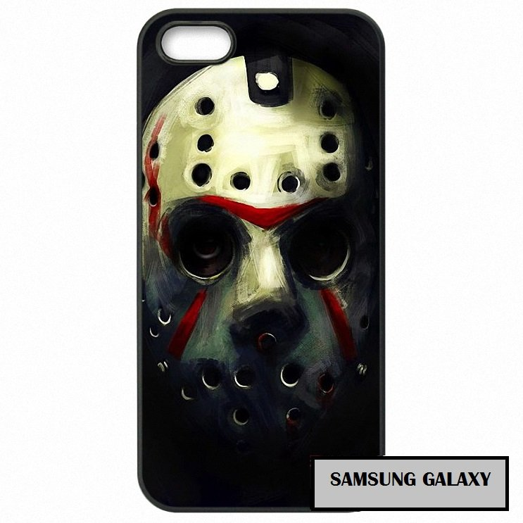 Jason Vorhees Mask Friday 13th Phone Case Samsung Galaxy Horror 2 3 4 5 7 S S2 S3 S4 S5 S6 S7 edge