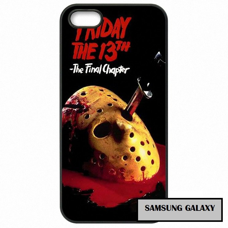 Jason Vorhees Final chapter horror Phone Case Samsung Galaxy Note 2 3 4 5 7 S S2 S3 S4 S5 S6 S7 edge