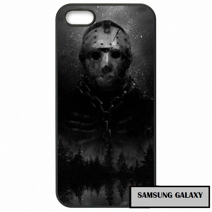 Jason Vorhees Cystal Lake Horror Phone Case Samsung Galaxy Note 2 3 4 5 7 S S2 S3 S4 S5 S6 S7 edge