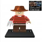 Freddy Krueger Horror Film Movie Character Lego Minifigure Mini Figure Free shipping offer
