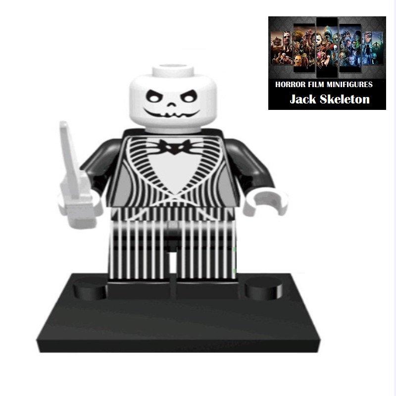 Jack Skeleton Nightmare Horror Film Movie Character Lego Minifigure Mini Figure Free shipping offer