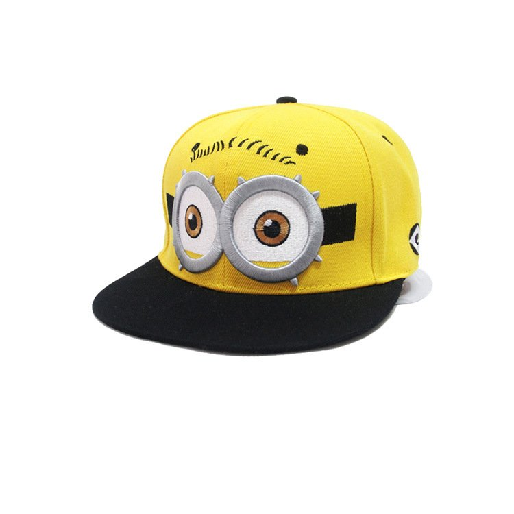 Minion Baseball Cap hat Snapback Sesame Street Adult Blue -NEW