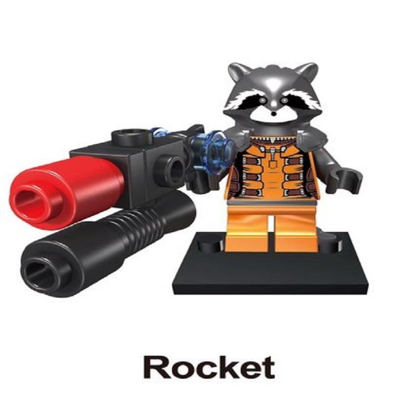 Rocket Galaxy of the Guardians Character Minifigure Lego Mini Figure