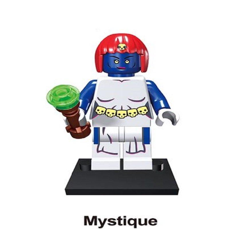 Mystique Character Minifigure Lego Mini Figure Build block