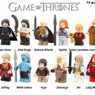 Game of Thrones Jon Snow Lord Varys Khai Drogo Ygritte Arya Lego Mini Figures 12pcs